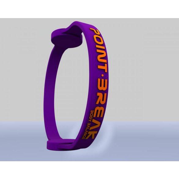 Point Break hologramos karkötő 01 Purple Dark/Stabilo Orange