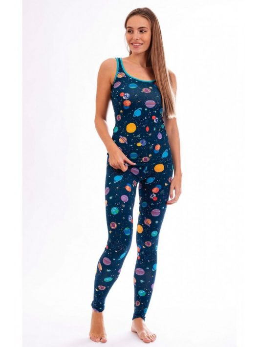 Bolygó mintás női leggings hosszú szárral